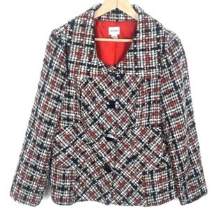 Chico's Tweed Jacket Size 2